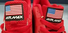 NEW - Nike Air Max 90 Hyperfuse Independence Day Red USA Flag UK Size 9