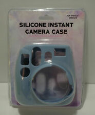 Fuji Fujifilm Instax Mini 8 9 Soft Silicone Instant Camera Case Light Blue - New