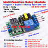 AC 110V 220V LED Dispaly Time Cycle Delay Switch Timer Relay Turn ON/OFF Module