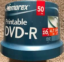 DVD-R Disc x16 4.7GB Printable