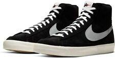 Nike Blazer Mid '77 Suede Uomo Unisex Black/Pure Platinum-Sail-White CW2371 0...