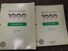 1999 Chevrolet Chevy Metro Coupe Sedan Shop Service Repair Manual LSi 1.0L 1.3L