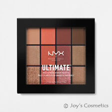 "1 NYX Ultimate Multi Finish Shadow Palette "" USP08 Warm Rust "" *Joy's cosmetics*"