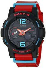 Casio Baby-G G-Lide Women's Red Resin Strap Watch BGA-180-4BDR