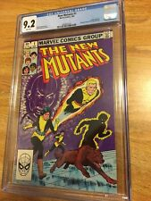 The New Mutants 1 cgc 9.2 White Pages Chris Claremont Story Bob McLeod Art 45yrs