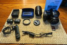 Panasonic LUMIX DMC-FZ150 12.1MP Digital Camera - Black with Accessories