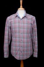 HUGO BOSS Check Regular Slim Casual Shirts & Tops for Men