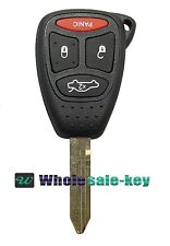 Replacement for Chrysler 2005-07 300 2007-09 Aspen Remote Car Key Fob Kobdt04a