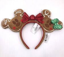Ears Rare Christmas Holiday Gingerbread Minnie Girl Disney Parks Headband