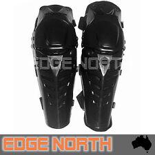 Racing  Motocross ATV Dirtbike Pit Bike Knee Guards Protector Pads Set