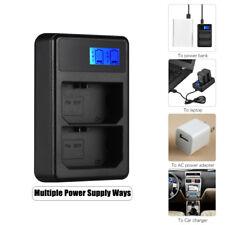 Camera Battery Charger For Sony NP-FZ100 A7RIII A7R3 A9 7M3 Black Plasti 5V-8.4V