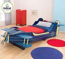 KIDKRAFT AIRPLANE TODDLER BED AEROPLANE BEDROOM CHILDREN CHILD FURNITURE