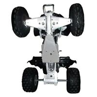 Ricochet 4-Piece Complete Aluminum Skid Plate Set Yamaha YFZ450R Aluminium Frame
