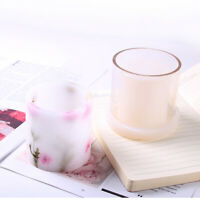 Cylinder Shape Candle Making Mould Mold for DIY LED Candle Holder Container