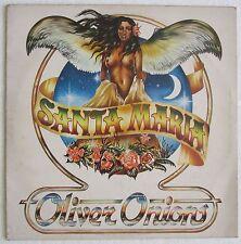 Oliver Onions SANTA MARIA album 33 GIRI LP VINILE disco anni Ottanta