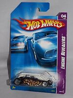 Hot Wheels 2007 Engine Revealers Series #060 Tire Fryer Black w/ Flames