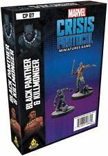 Marvel Crisis Protocol Miniatures Game Black Panther and Killmonger Expansion