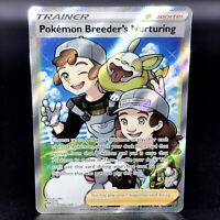 Pokemon Breeder's Nurturing - SWSH Darkness Ablaze 188/189 - Rare Pokemon Card