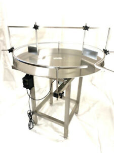 """Accumulation Rotary table S/S 304- For Initiation 36"""" plate (NEW)"""