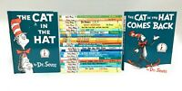 Lot 25 DR SEUSS BEGINNER BOOKS Set + BRIGHT & EARLY HARDBACK Same Sz No Bookclub