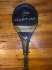 VTG! JOHN McENROE GOLD Dunlop Tennis Racquet Midsize Comp 4 3/8 Grip