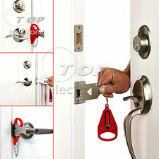 Portable Door Stopper Lock for Travel Lockdown Security Apartment Hotel Motel