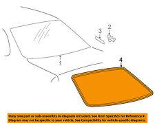 TOYOTA OEM 00-04 Avalon Rear Window Glass-Reveal Molding 75571AC010