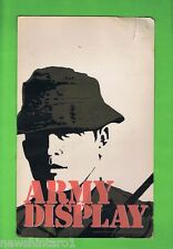 #T37.  1978  AUSTRALIAN  ARMY   RECRUITMENT CARDBOARD DISPLAY
