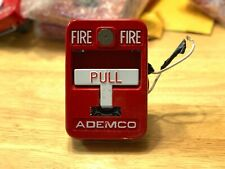 Ademco 5140MPS-2 Fire Alarm Pull Station Metal T-bar