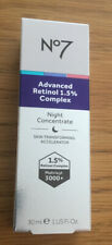 BOOTS No7 Advanced Retinol 1.5% Complex Night Concentrate IN HAND READY TO POST
