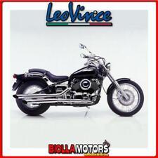scarico completo leovince yamaha xvs 650 drag star classic 2000- silvertail k02