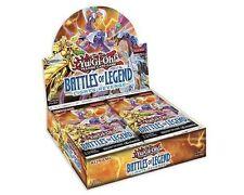 YUGIOH  Battles of Legend Light's Revenge Factory Sealed Booster Box