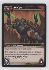 2007 World of Warcraft TCG: Fires Outland Booster Pack Base 162 Gor'gar Card 0b5