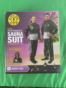 "Gold's Gym Performance Sauna Suit XL/XXL 42""-50"""