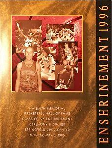 1996 BASKETBALL HALL OF FAME ENSHRINEMENT PROGRAM MINT!