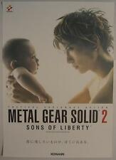 METAL GEAR SOLID 2 GACKT Poster 04 promo