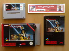 Juego ★ SUPER STAR WARS RETURN OF THE JEDI Super Nintendo SNES PAL ESPAÑA ☆