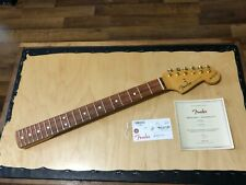 2019 Fender USA Stevie Ray Vaughan SRV Signature Stratocaster Guitar Neck w/ COA