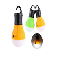 Outdoor Hanging 3LED Camping Tent Light Bulb Fishing Lantern Lamp Portable