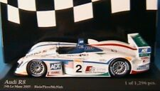 Minichamps 1/43 Scale Model car 400 051392 - Audi R8 24h le Mans 2005