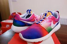 Nike Rosherun Estampado Arco Iris Tie Dye UK8.5 US9.5 DS Vapormax Racer NMD
