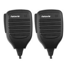 2x Handheld Remote PTT Speaker Mic for Retevis H-777,RT3,RT, TYT MD-380 Radio