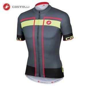 Castelli Velocissimo Jersey FZ - Mens Size L - Cycling - Bike