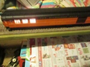 HO Scale AHM 6303-M Milwaukee Road 106 Lighted 1920 Combine car in box.