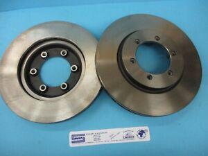 Pair Front Brake Discs SsangYong Rexton Korando Musso 4144106210 G04330E