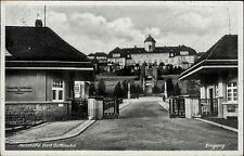 Bad Gottleuba Sachsen s/w AK 1942 gelaufen Heilstätte der LVA Sachsen Eingang