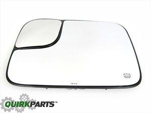 02-05 Dodge Ram 1500 2500 3500 Power Tow Mirror Heated GLASS Drivers Side