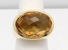 Citrine & 14k Yellow Gold Ring