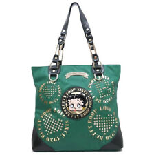 Betty Boop Green Leather Shoulder Style Purse