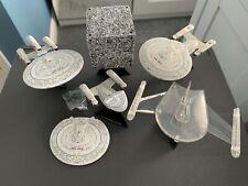 More details for star trek johnny lightning uss enterprise d, future, yomato, borg cube, romulan
